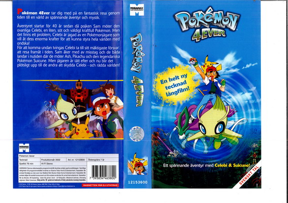 POKEMON 4EVER (VHS)