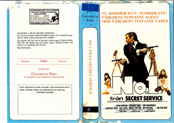 34-NO 1 FROM SECRET SERVICE (vhs)
