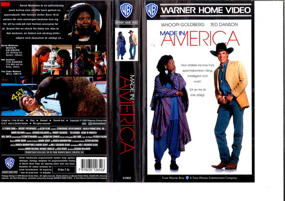 MADE IN AMERICA (VHS)