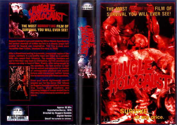 JUNGLE HOLOCAUST (VHS) BAH