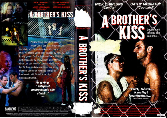 A BROTHER'S KISS (VHS)