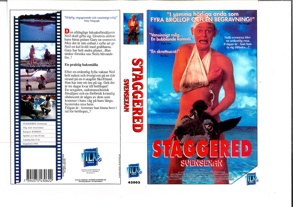 STAGGED - SVENSEXAN (VHS)