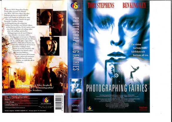 PHOTOGRAPHING FAIRIES (VHS)