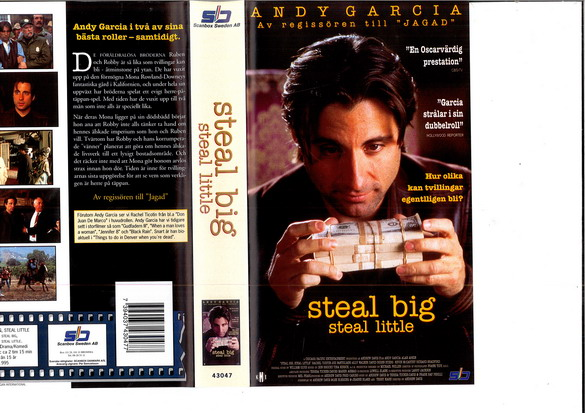 STEAL BIG STEAL LITTLE (VHS)