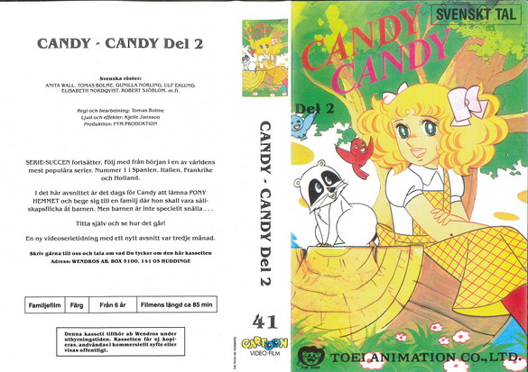 CANDY CANDY DEL 2