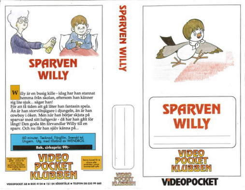SPARVEN WILLY (VHS)