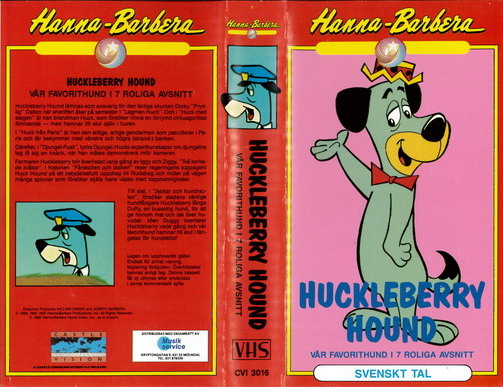 HUCKLEBERRY HOUND (VHS)