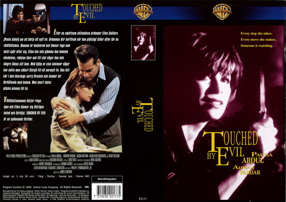 TOUCHED BY EVIL (vhs)