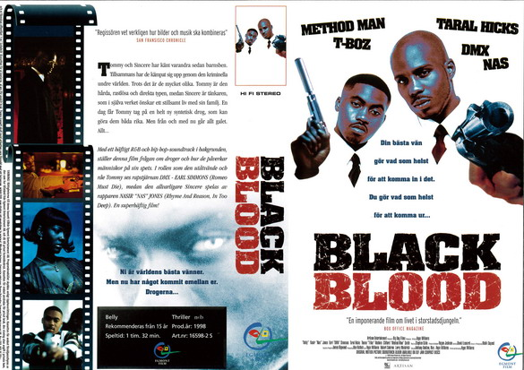 BLACK BLOOD (VHS)