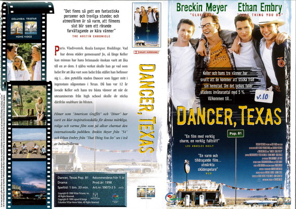 DANCER, TEXAS (vhs)
