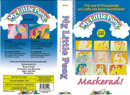 MY LITTLE PONY MASKERAD(VHS)
