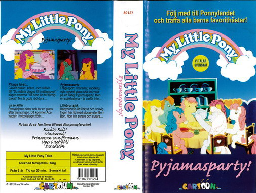 MY LITTLE PONY PYJAMASPARTY(VHS)