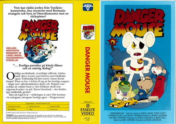 DANGERMOUSE (vhs)