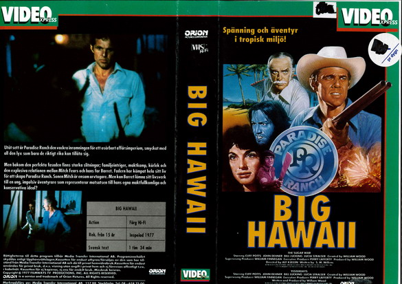 BIG HAWAII (VHS)