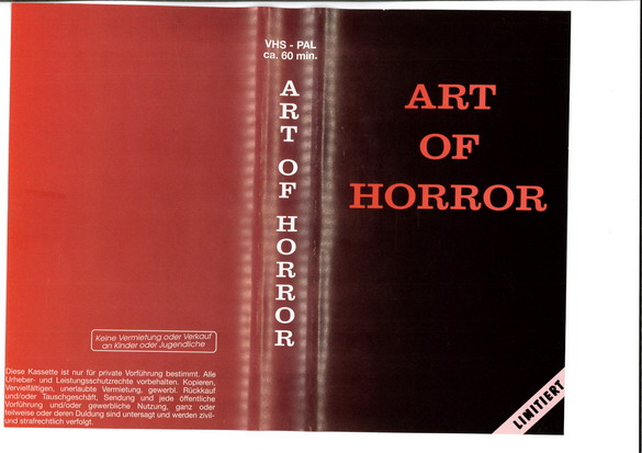 ART OF HORROR   (VHS) IMPORT