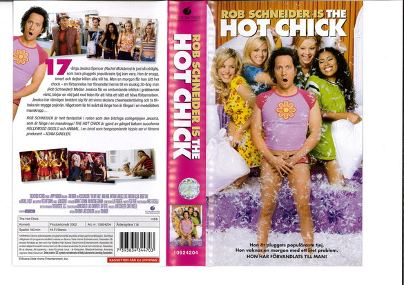 HOT CHICK   (VHS)