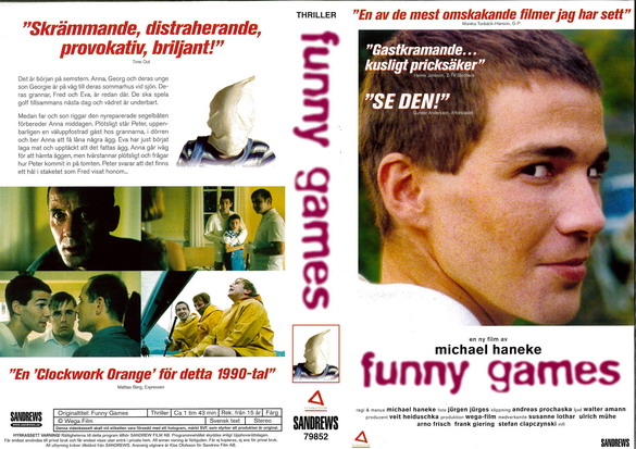 FANNY GAMES (VHS)