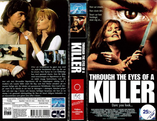 THROUGH THE EYES OF A KILLER (VHS)