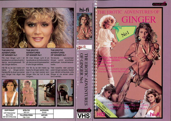189 EROTIC ADVENTURES OF GINGER (VHS)