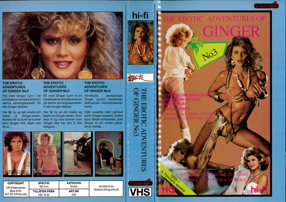 202 EROTIC ADVENTURES OF GINGER NO 3 (VHS)