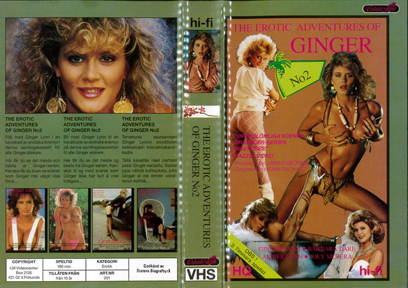 201 EROTIC ADVENTURES OF GINGER NO 2 (VHS)