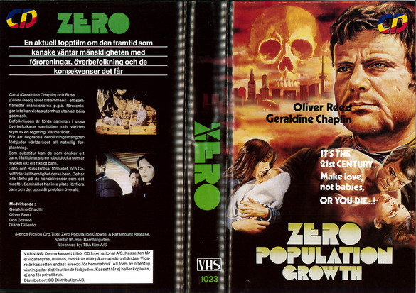 1023 Zero Population Growth (VHS)