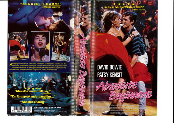 ABSOLUTE BEGINNERS (VHS)