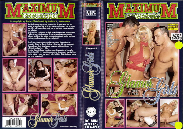 MAXIMUM PERVERSUM VOL 45 GLAMOR GIRLS (VHS)