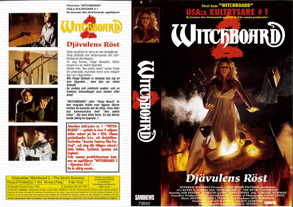 WITCHBOARD 2 (VHS)