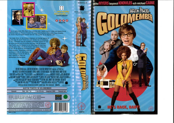 AUSTIN POWERS IN GOLDMEMBER (VHS)