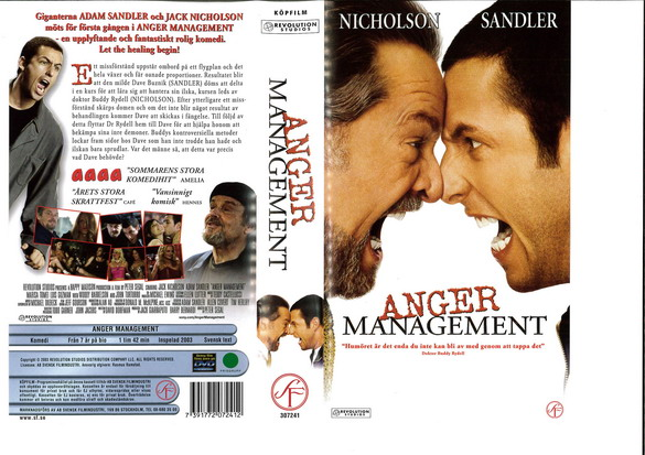 Anger Management (VHS)