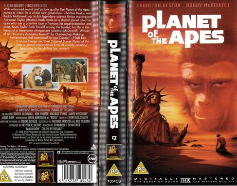 PLANETS OF THE APES - 1967  (VHS) UK