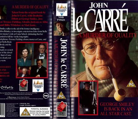 A MURDER OF QUALITY  (VHS) UK