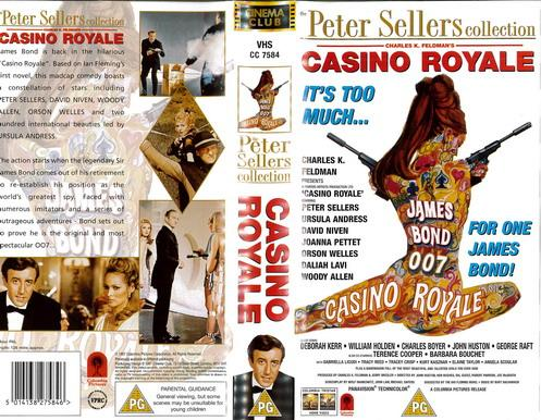 CASINO ROYALE  (VHS) UK