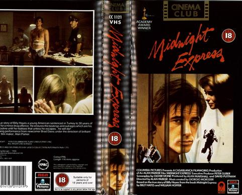 MIDNIGHT EXPRESS (VHS) UK