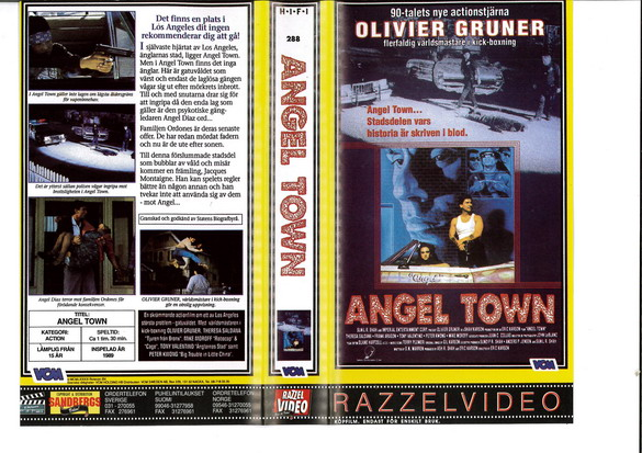 ANGEL TOWN (VHS)