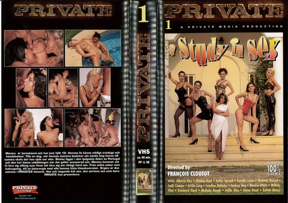 PRIVATE GOLD 01: A STUDY IN SEX (VHS)