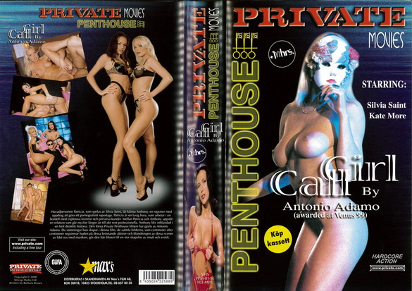 PRIVATE PENTHOUSE MOVIES 1: CALL GIRL (VHS)