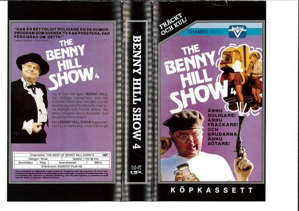 BENNY HILL SHOW: 4 (VHS)