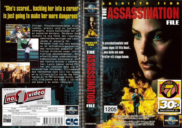 ASSASSINATION FILE (VHS)