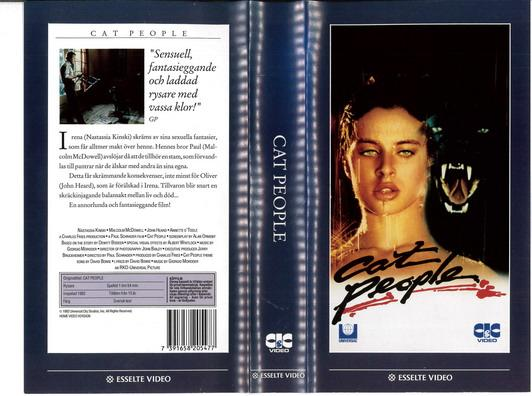 CAT PEOPLE (VHS)