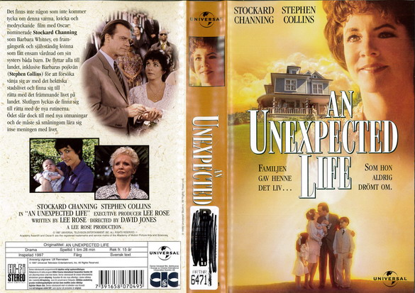 AN UNEXPECTED LIFE (VHS)