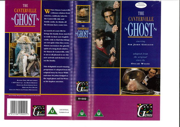 CANTERVILLE GHOST  (VHS) UK