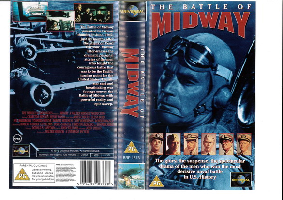 BATTLE OF MIDWAY  (VHS) UK