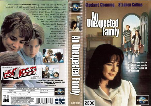 AN UNEXPECTED FAMILY (VHS)