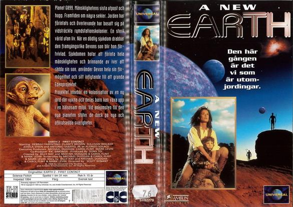A NEW EARTH (VHS)