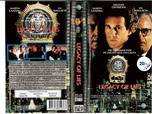 LEGACY OF LIES (VHS)