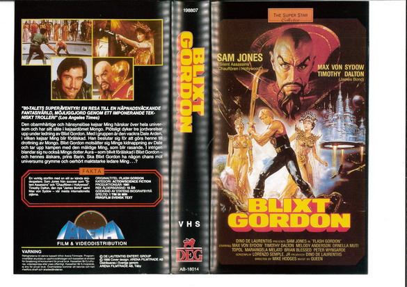 BLIXT GORDON (VHS)