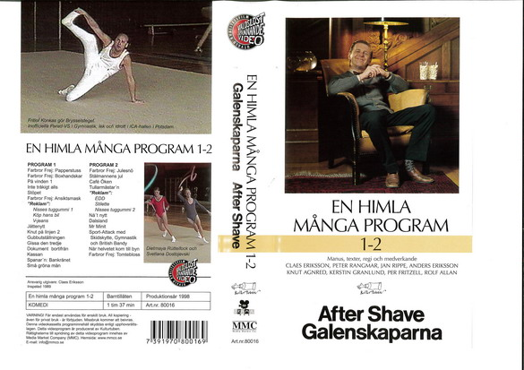 EN HIMLA MASSA PROGRAM 1-2 (VHS)