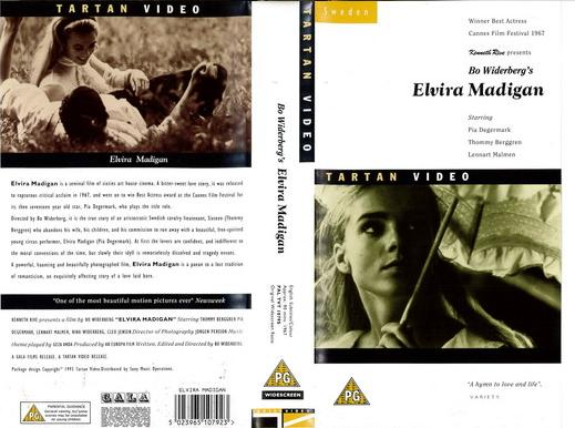 ELVIRA MADIGAN (VHS) UK